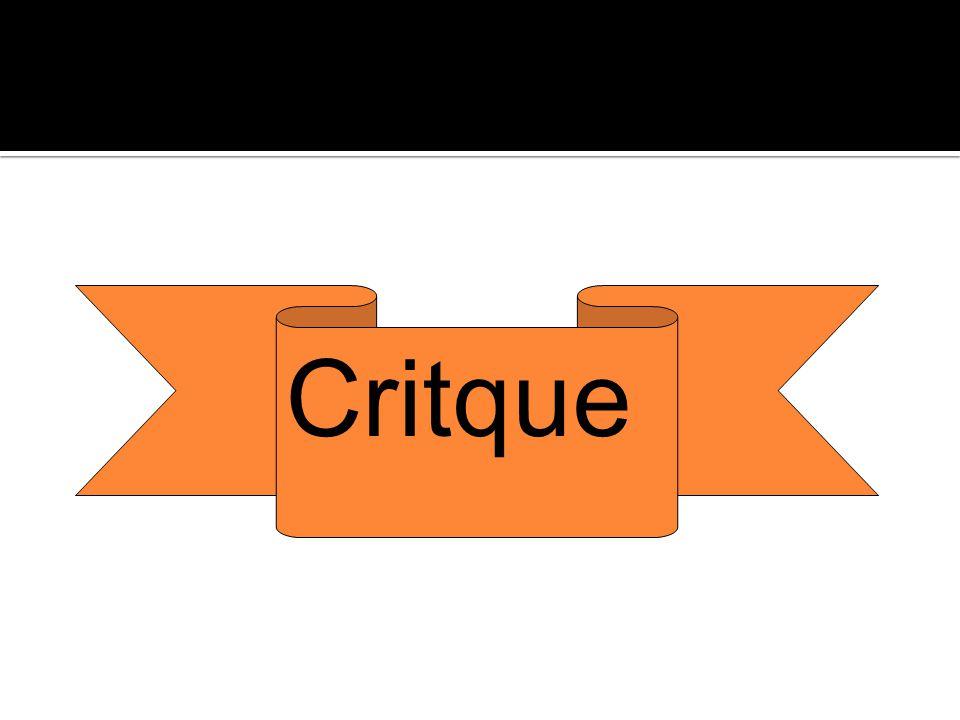 Critque