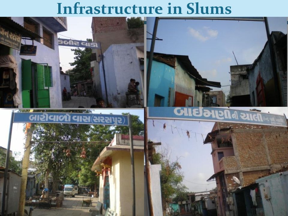 PAS Project 11 Infrastructure in Slums