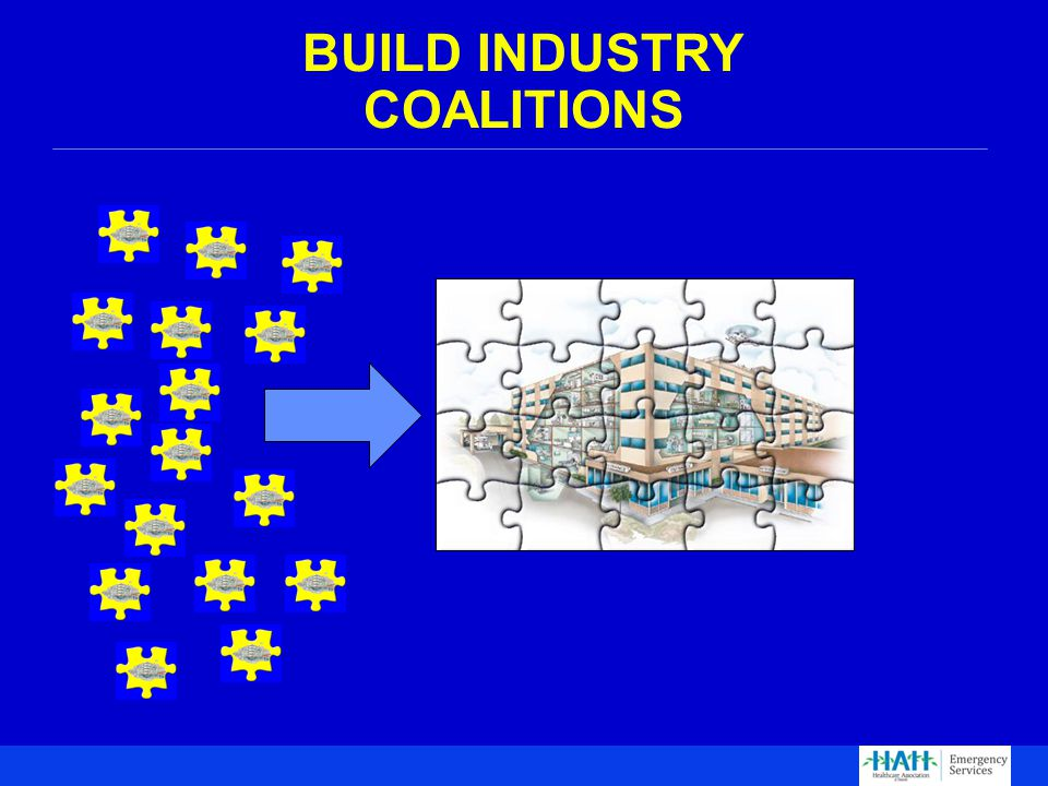 BUILD INDUSTRY COALITIONS