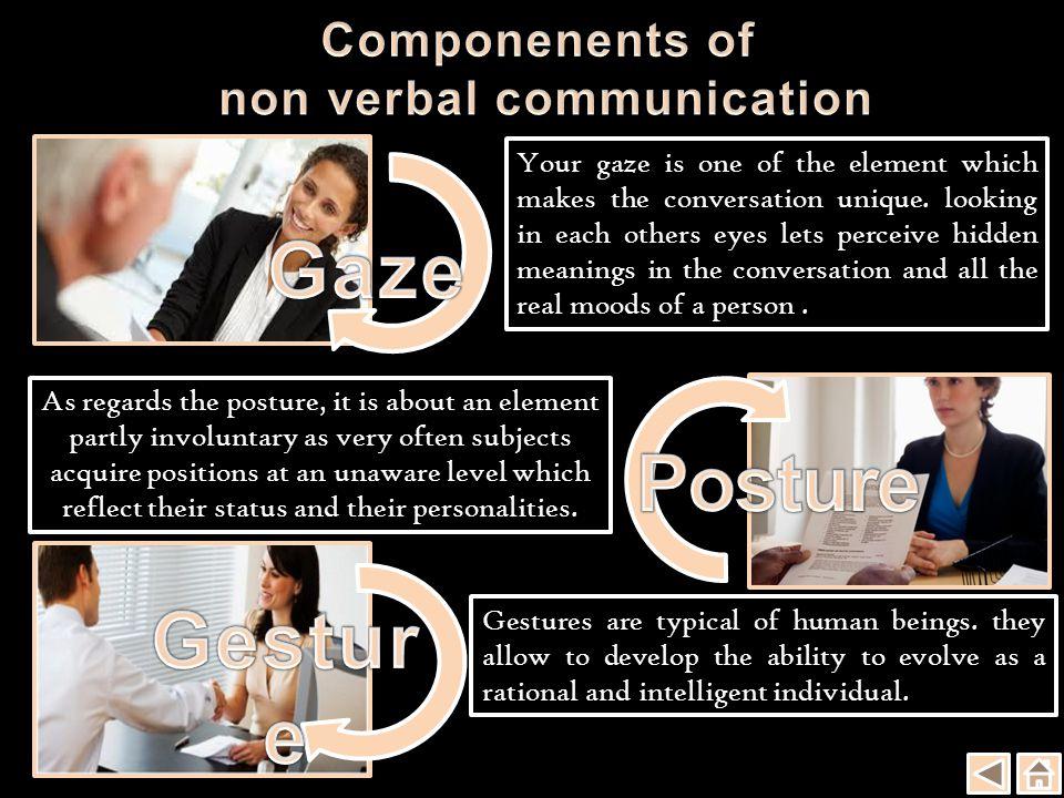 The body language isn t an optional element of communication.