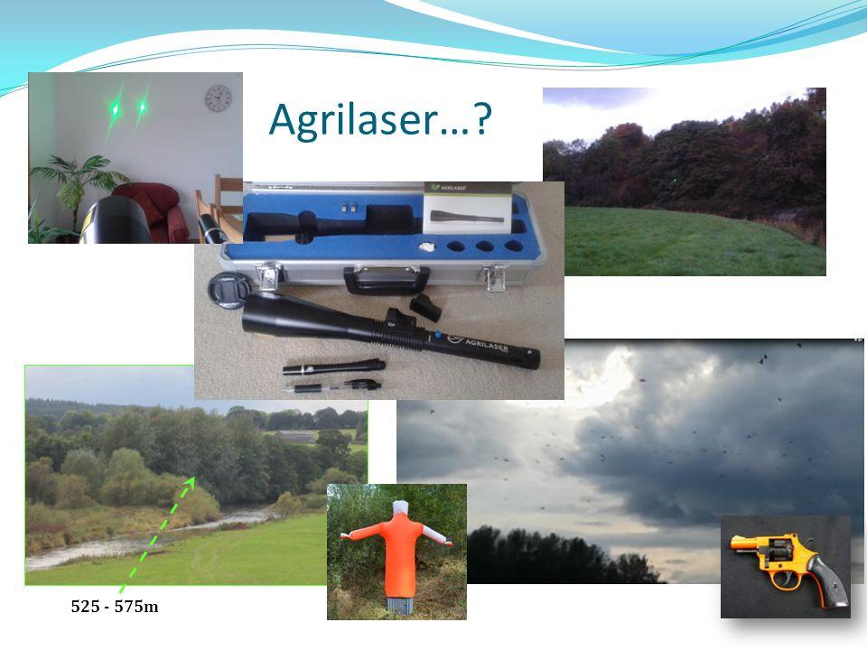 Agrilaser…? 525 - 575m