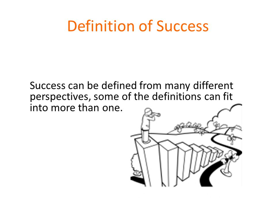 A challenging question to all of us: What kind of success are we educating young people for.
