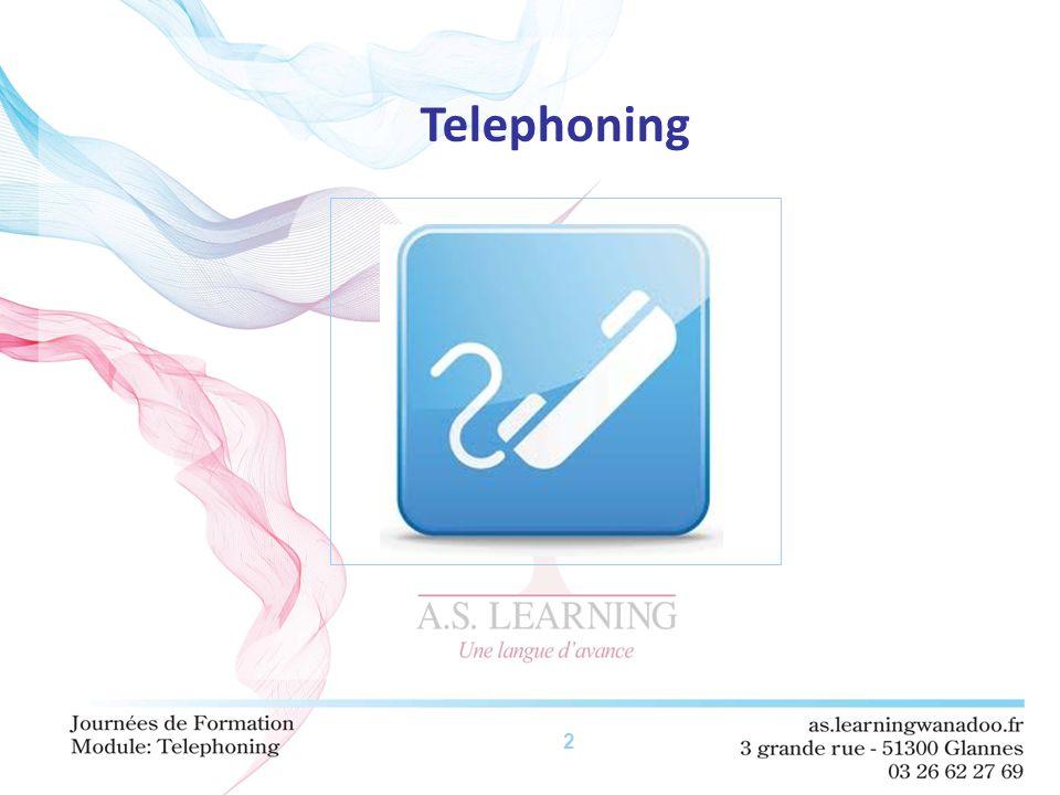 2 Telephoning