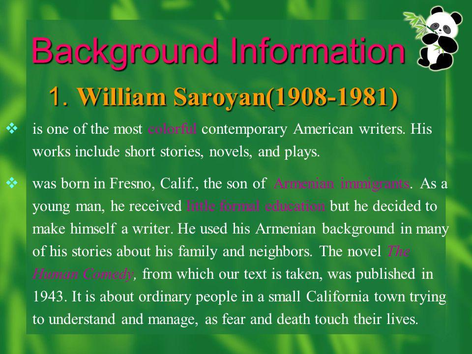 Background Information 1.