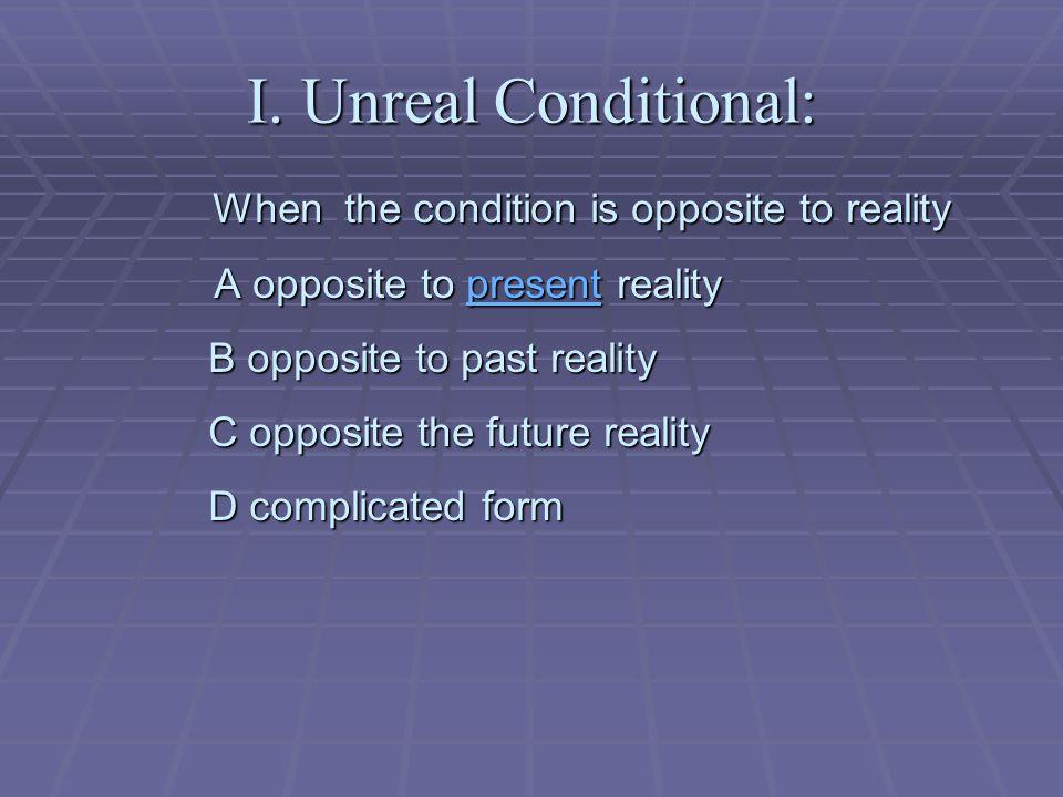 Including the repetiton of  Unreal conditional Repetiton