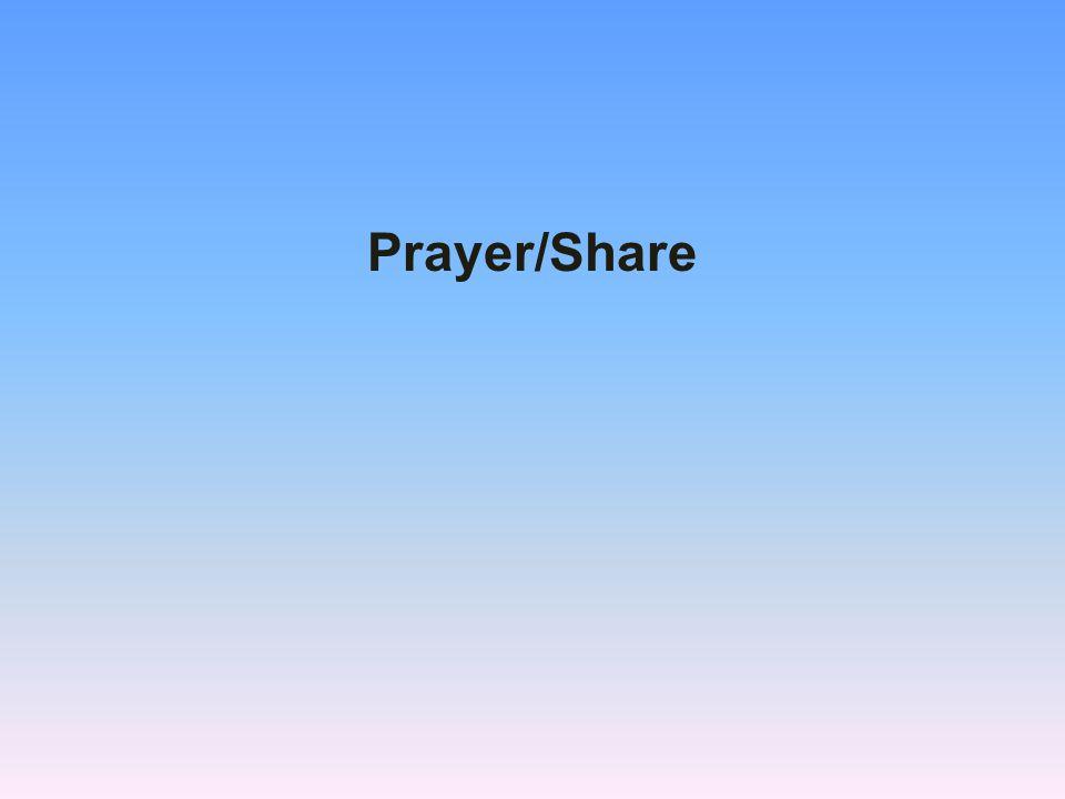 Prayer/Share