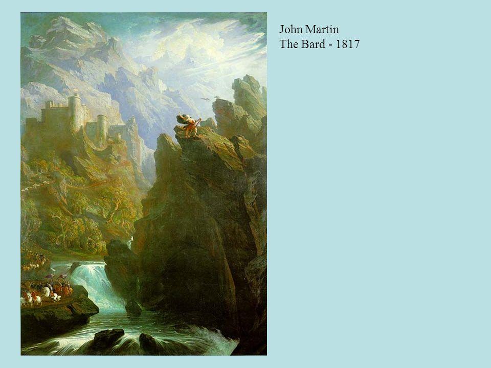 John Martin The Bard - 1817