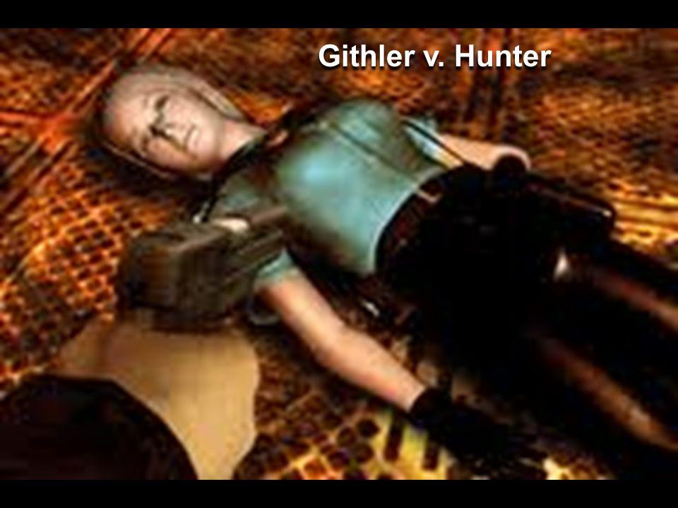 Githler v. Hunter
