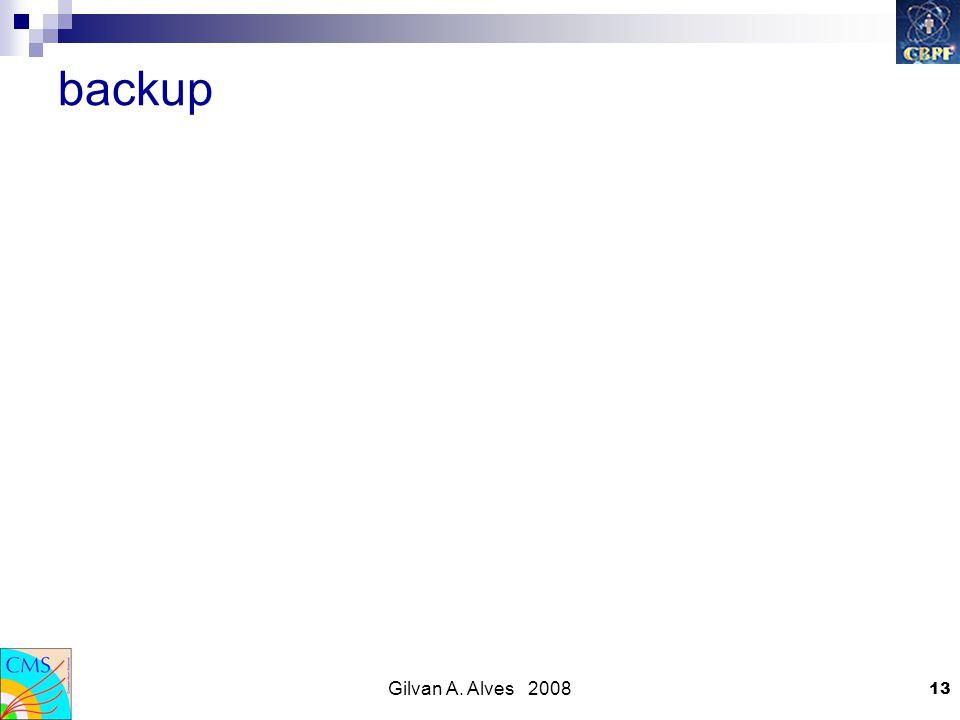Gilvan A. Alves 2008 13 backup