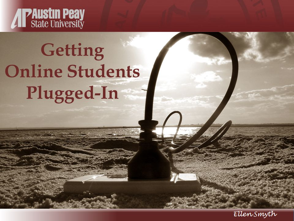Getting Online Students Plugged-In