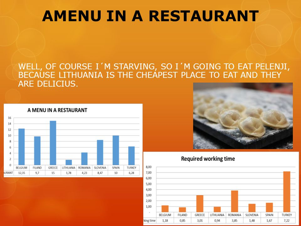 AMENU IN A RESTAURANT WELL, OF COURSE I´M STARVING, SO I´M GOING TO EAT PELENJI, BECAUSE LITHUANIA IS THE CHEAPEST PLACE TO EAT AND THEY ARE DELICIUS.