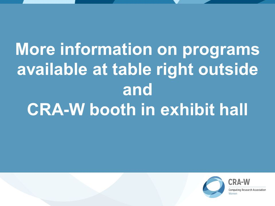 What does CRA-W do.