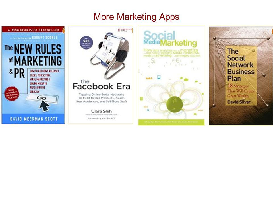 More Marketing Apps