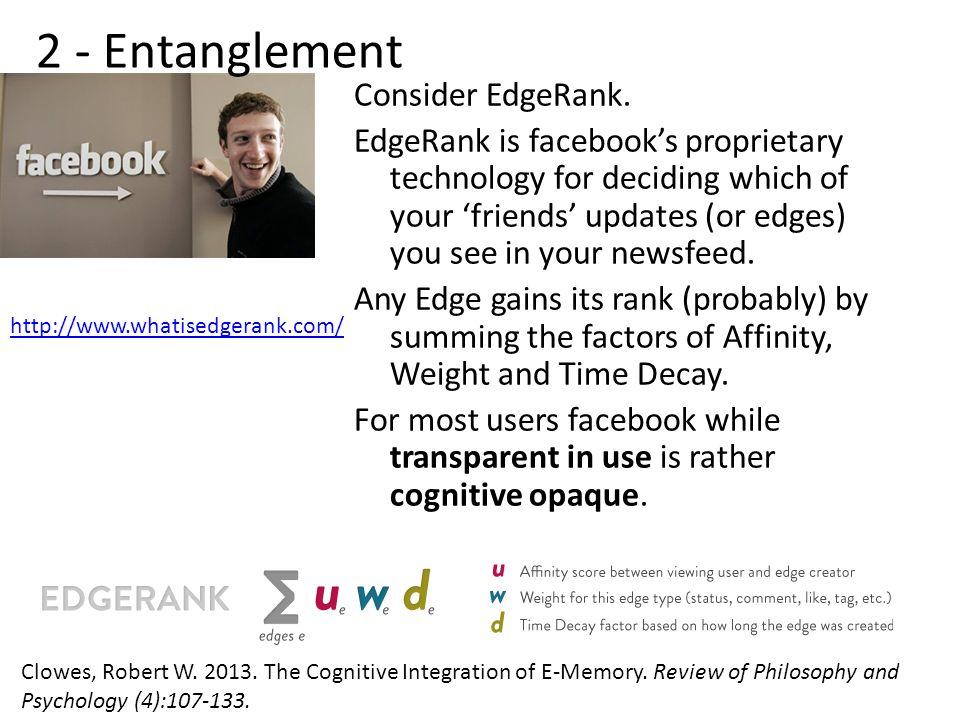 Consider EdgeRank.