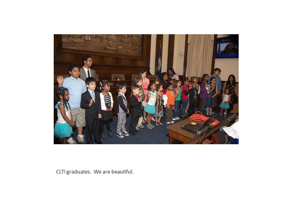 CLTI graduates. We are beautiful.