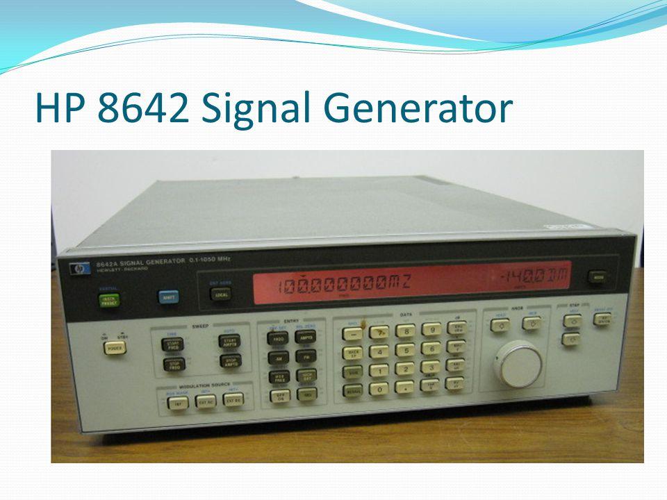 HP 8642 Signal Generator