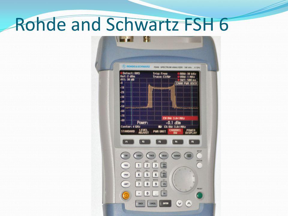 Rohde and Schwartz FSH 6