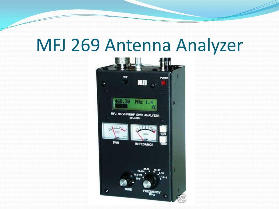 MFJ 269 Antenna Analyzer