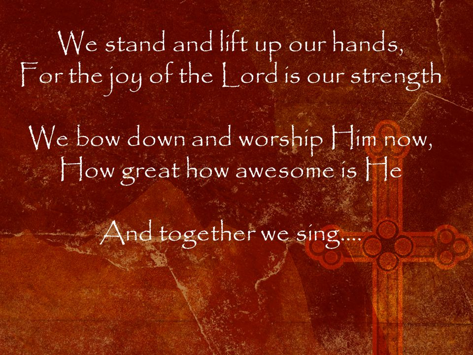 Bless the Lord oh my soul Oh my soul Worship his holy name Sing like never before Oh my soul I worship your holy name