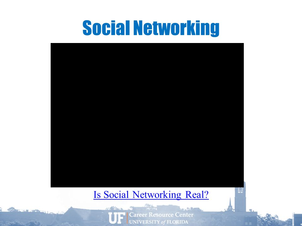 Social Networking Is Social Networking Real