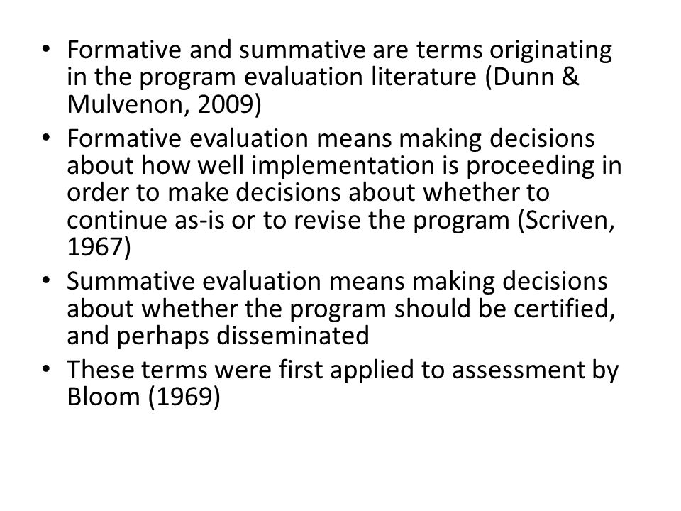 Second, the thinking processes that the state will assess also needs elaboration.