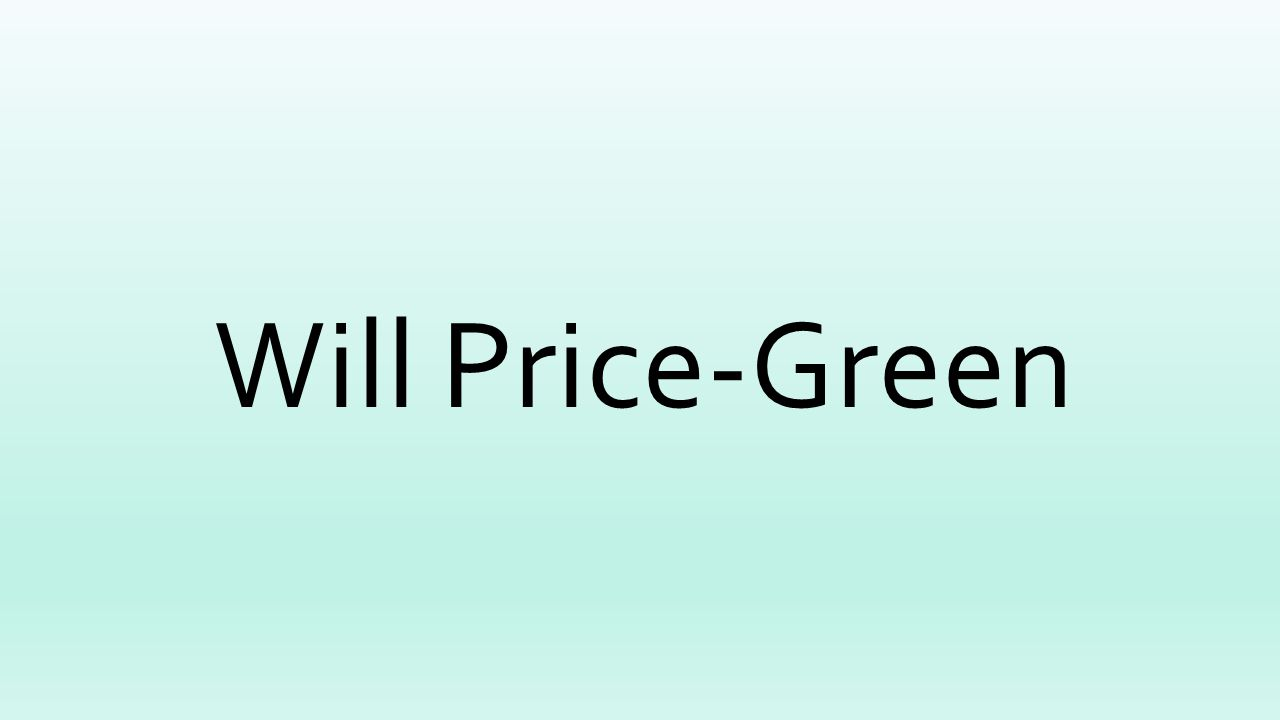 Will Price-Green