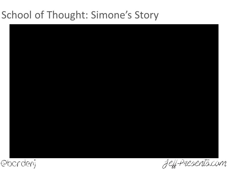 School of Thought: Simone's Story