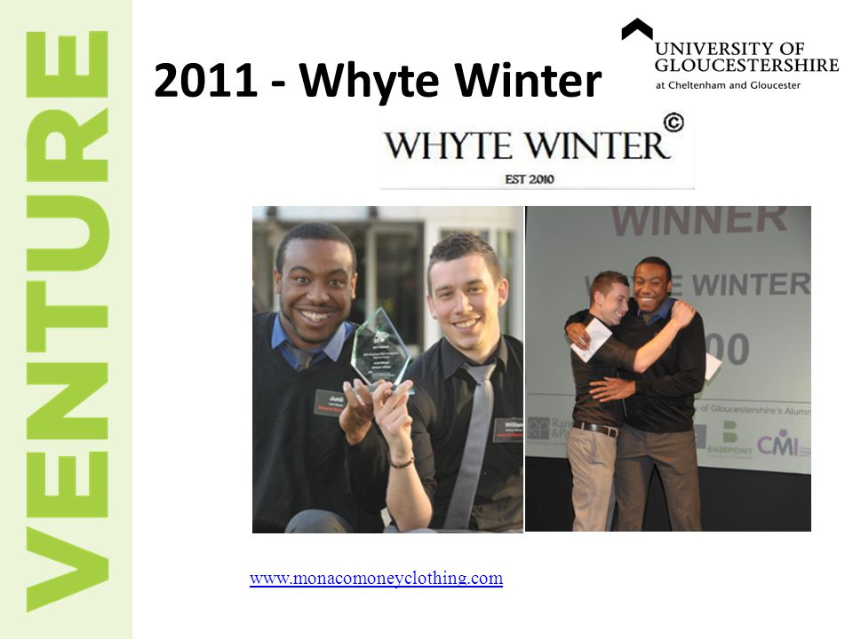 www.monacomoneyclothing.com 2011 - Whyte Winter