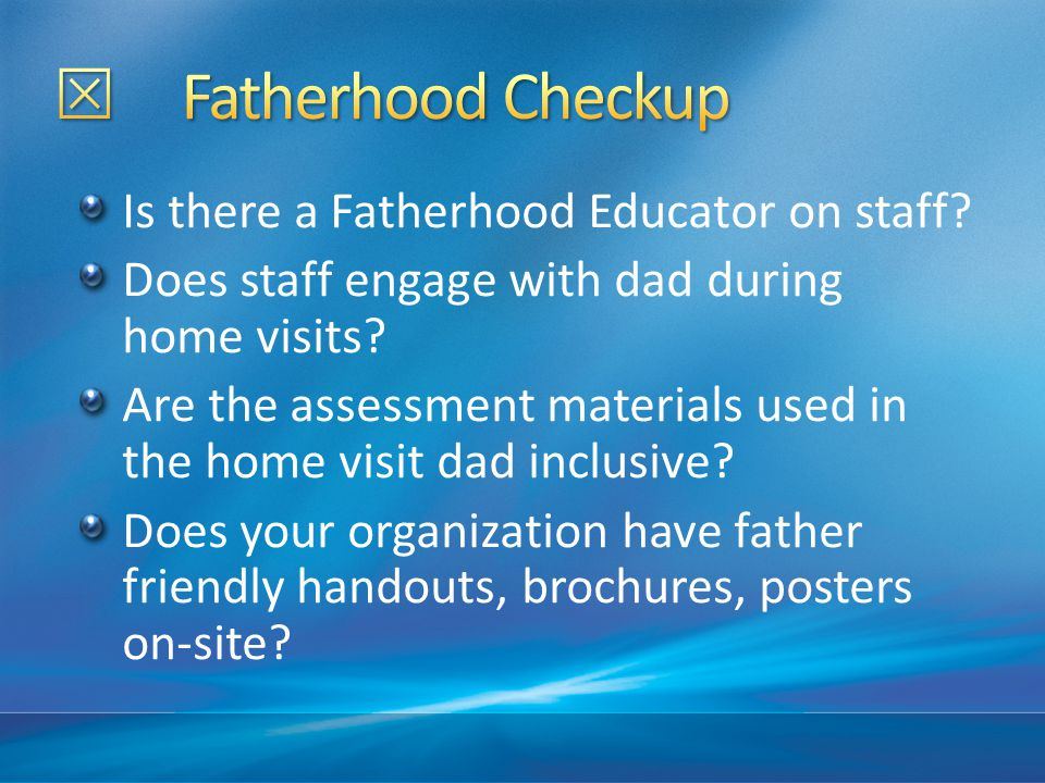 National Fatherhood Initiative conducted a survey asking mothers and fathers, is there a father absence crisis in America.