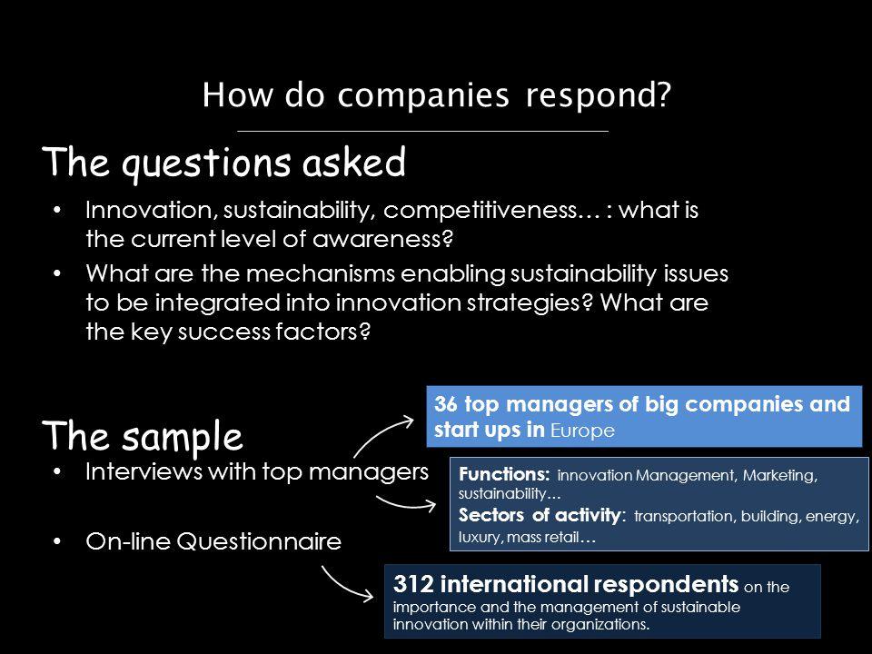 How do companies respond.