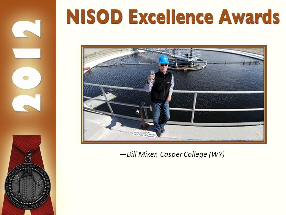 —Bill Mixer, Casper College (WY)