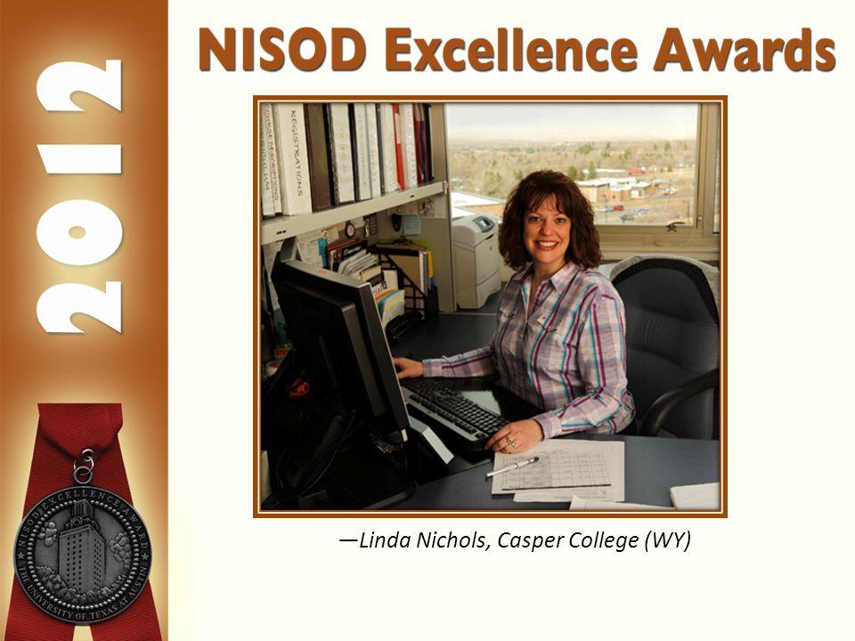 —Linda Nichols, Casper College (WY)