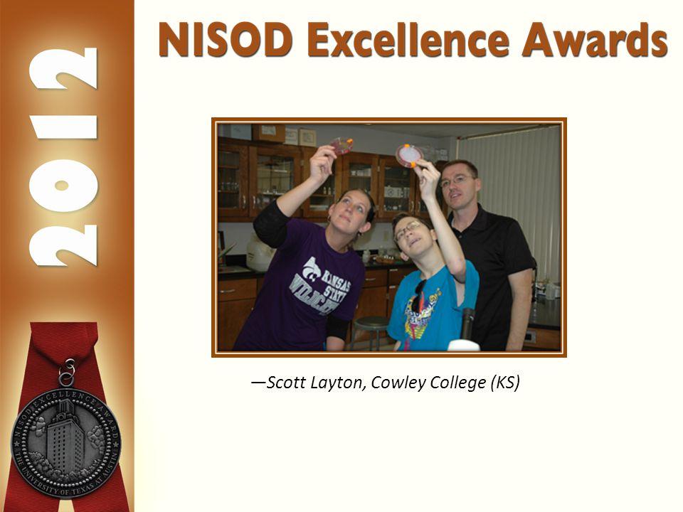 —Scott Layton, Cowley College (KS)