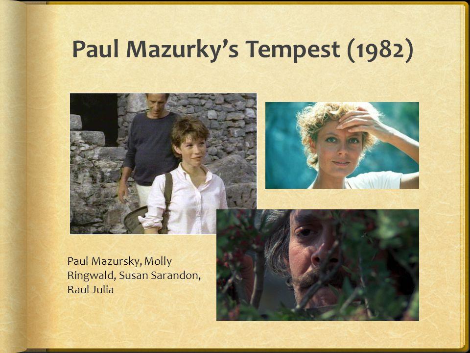 Paul Mazurky's Tempest (1982) Paul Mazursky, Molly Ringwald, Susan Sarandon, Raul Julia
