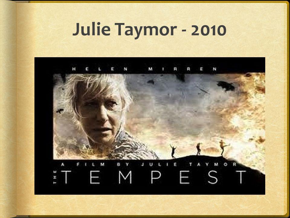 Julie Taymor - 2010
