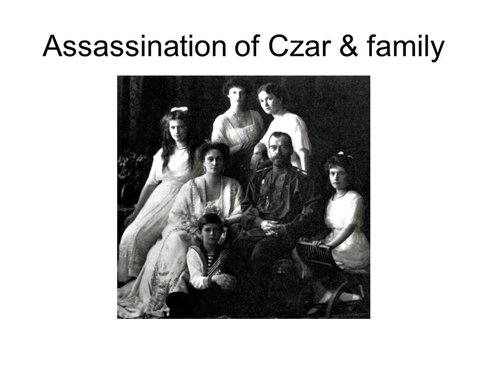 Assassination of Czar & family