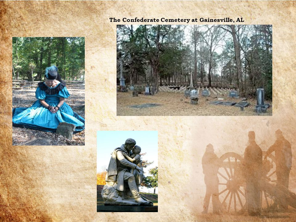 The Confederate Cemetery at Gainesville, AL