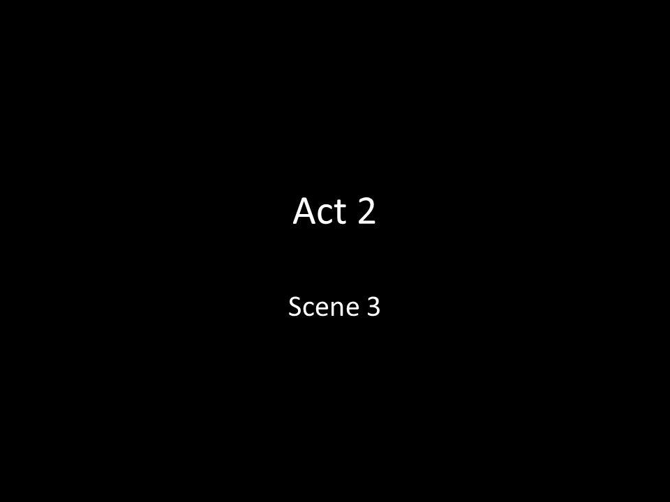 Act 2 Scene 3