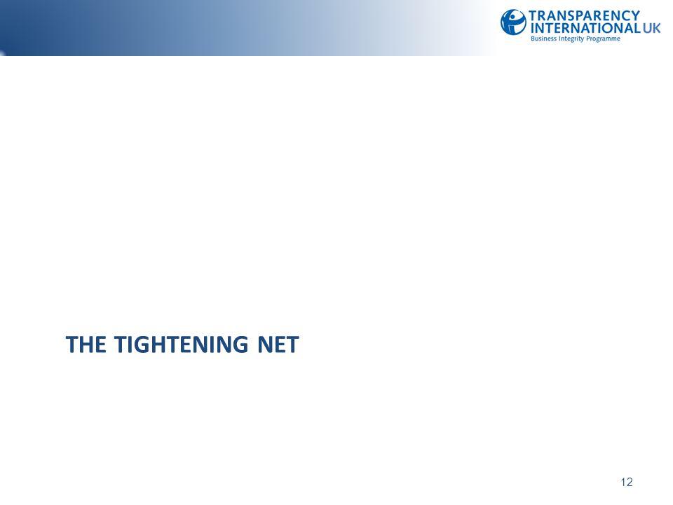 THE TIGHTENING NET 12