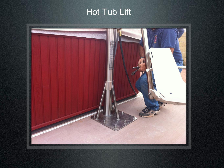 Hot Tub Lift