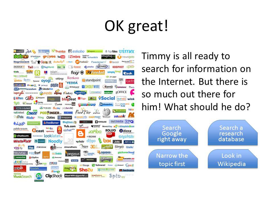 Information overload.