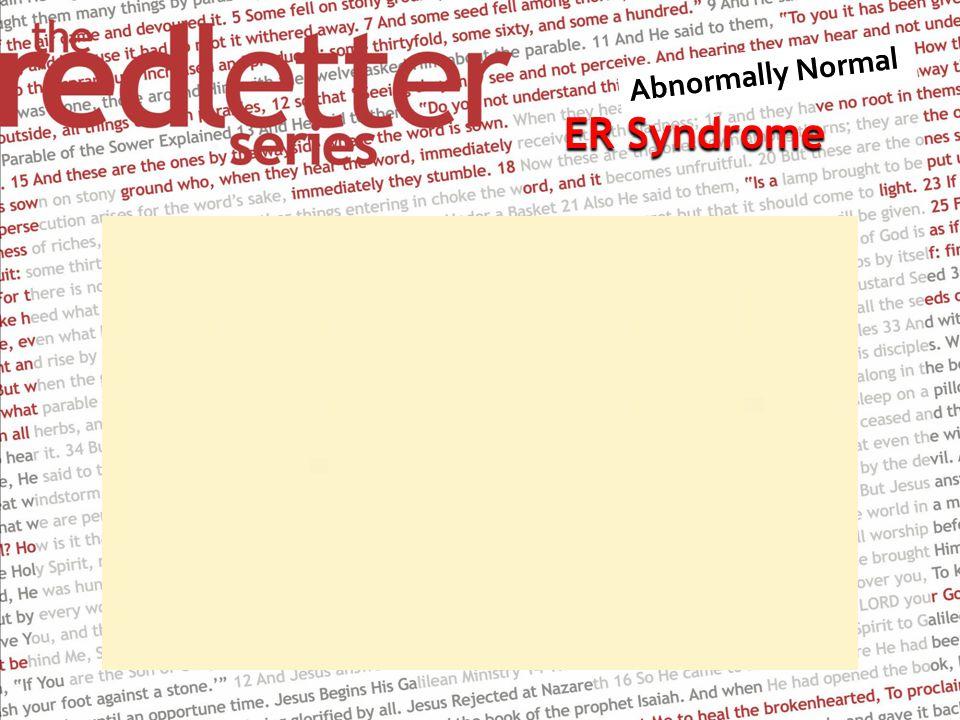 ER Syndrome ER Syndrome