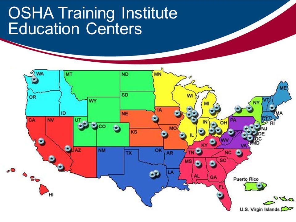 OSHA Training Institute Education Centers
