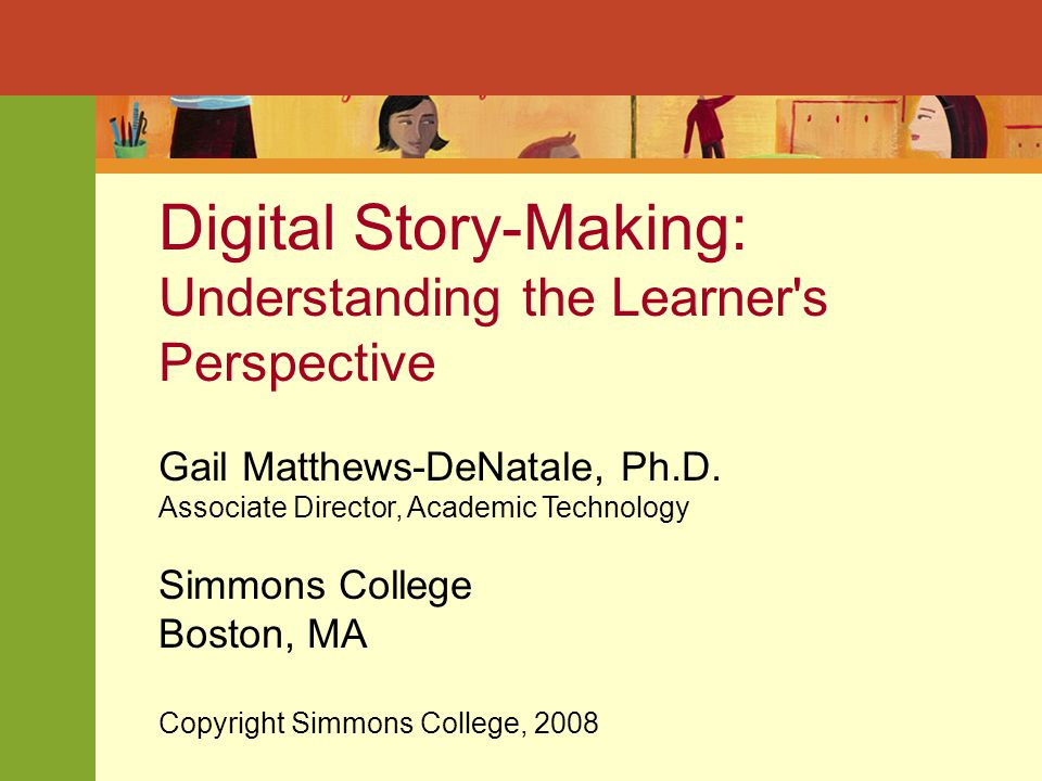 Based on faculty/learner feedback, What's the value of (digital) storytelling for higher education.