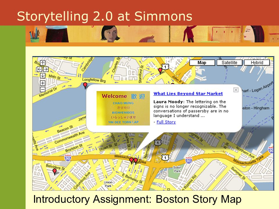 Storytelling 2.0 at Simmons Culminating Assignment: Family Map