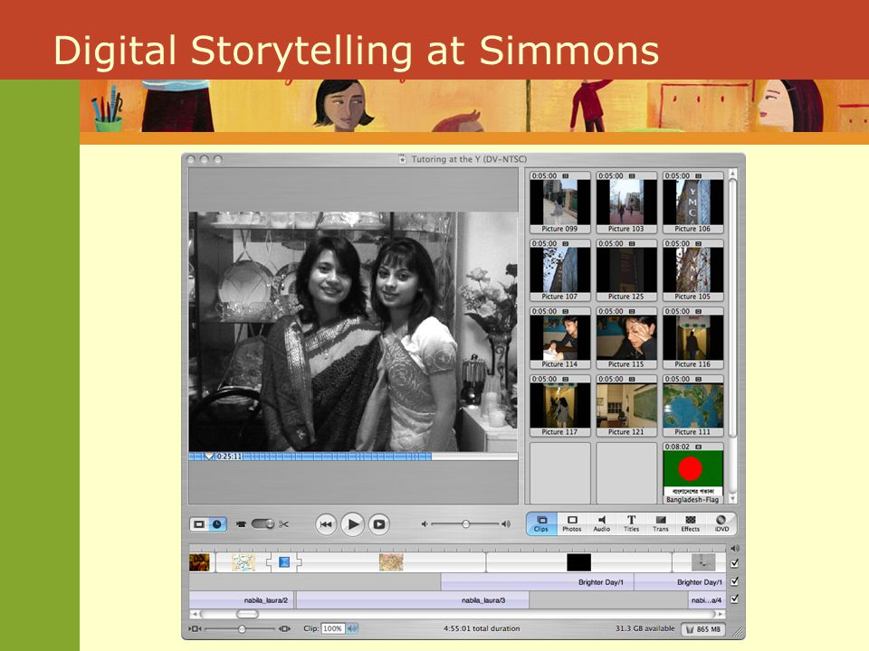 Turn to your neighbor, swap stories, pick one to work with Using the blank storyboard, consider how you could use sounds (words in particular), images, and timing to begin to tell a story of powerful learning. Experiment with 3D Authorship