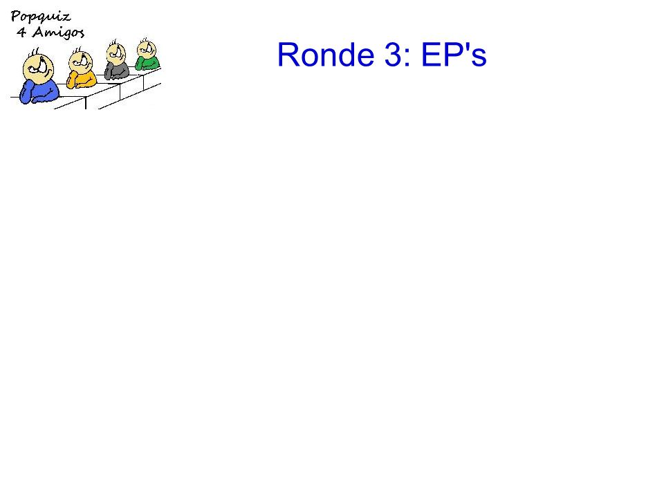 Ronde 3: EP s 1.Bryan Ferry: The price of love [Extended play] 2.the Beatles: Your mother should know [Magical mystery tour] 3.Erasure: Take a chance on me [Abba-esque] 4.Fleet Foxes: Mykonos [Sun giant] 5.Deacon Blue: I'll never fall in love again [Four Bacharach & David songs] 6.Simple Minds: Belfast child