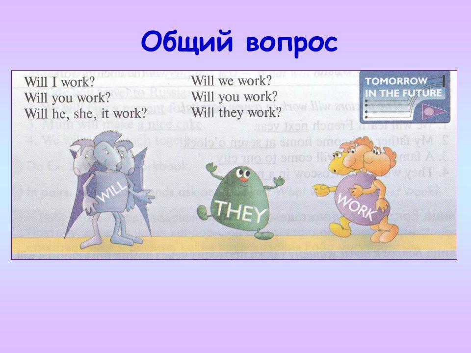 Образуйте общие вопросы 1.The doctors will work in a new hospital.
