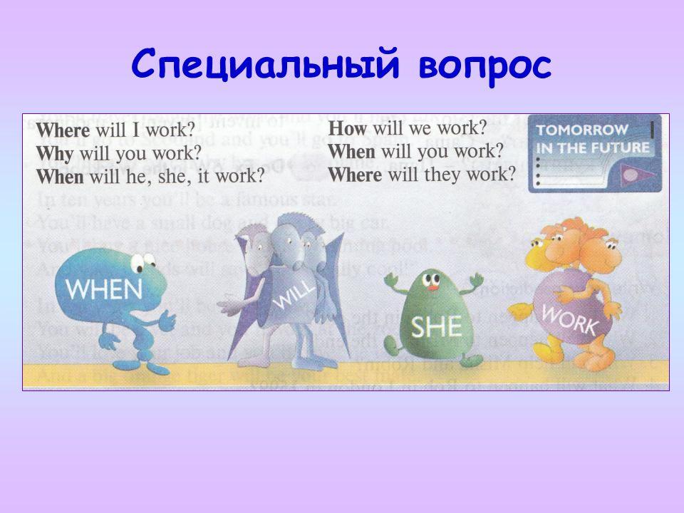 Вопросительное словоОбщий вопрос Wherewill the doctors work.