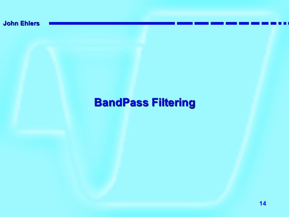 John Ehlers 14 BandPass Filtering